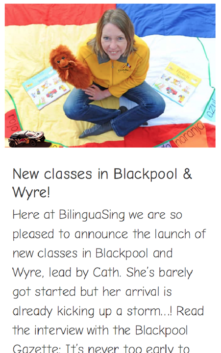 New classes in Blackpool & Wyre!