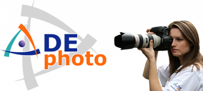 logo for D E Photo
