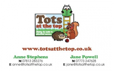 logo for Tots at the Top