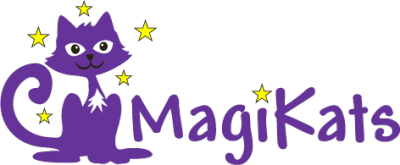 logo for MagiKats Maths and English Tutoring