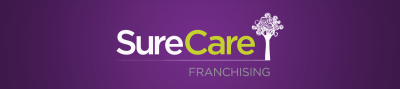 logo for SureCare Franchising